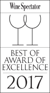 Best of Wine Spectator - - Award of Excellence